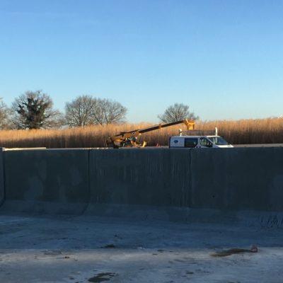 Février 2019 - Le mur progresse...