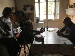 tournage interview ANTOINE